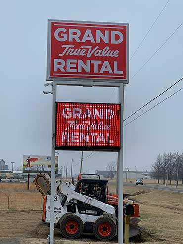 Grand Rental is the best place for equipment rentals in Grove OK
