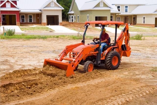 Where to find BACKHOE, 24.3HP 4WD in Grove
