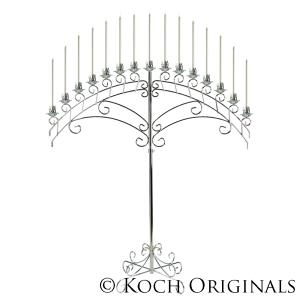 Where to find CANDLEABRA, NICKEL 15 LT ARCH in Grove
