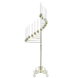 Where to find CANDLEABRA, SPIRAL BRASS in Grove