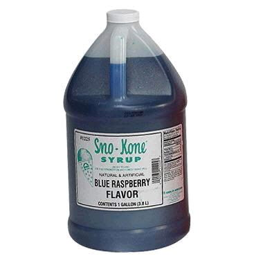Where to find SNO-CONE SYRUP BLUE RASP in Grove