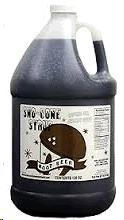 Where to find SNO-CONE SYRUP  ROOTBEER in Grove