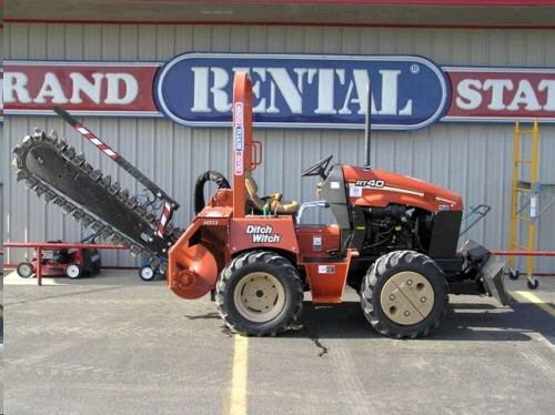 Trencher riding ditch witch rentals Grove OK | Where to rent