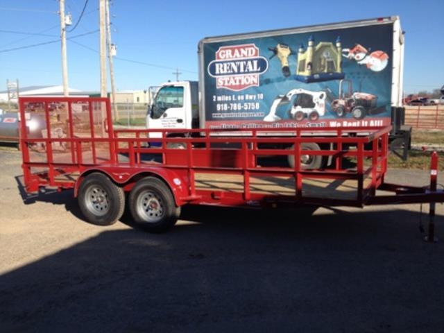 Where to find TRAILER, 6 X 16 24  SIDE RAILS in Grove